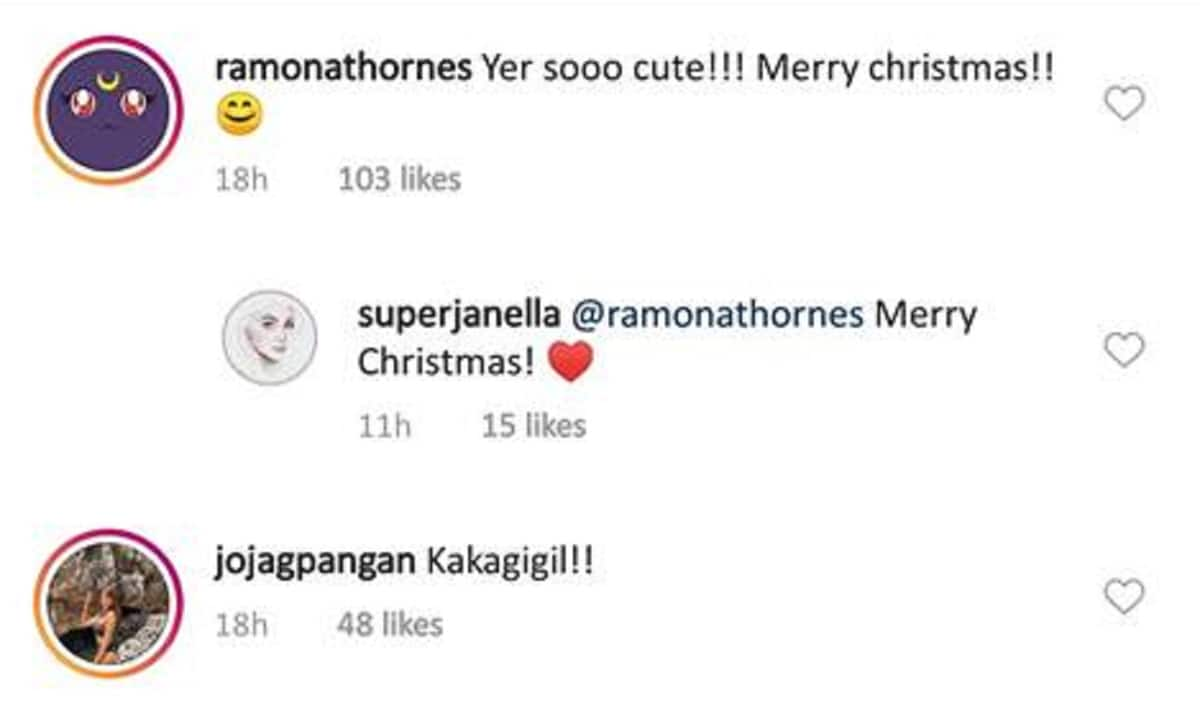 Janella Salvador posts a video of how she happily opened her Christmas gifts when she was a kid