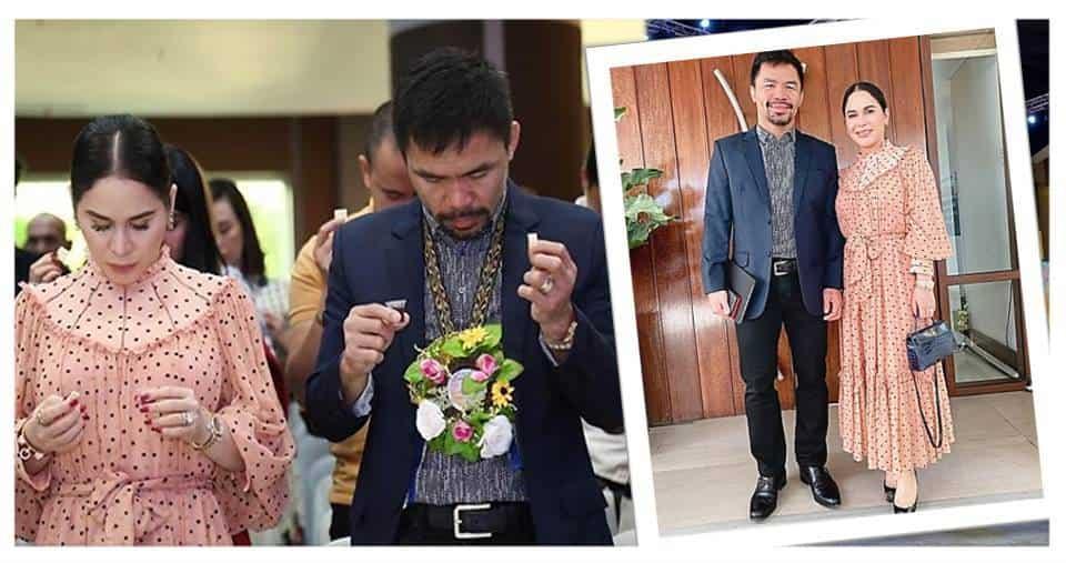 """Jinkee at Manny Pacquiao, ipinagdiwang ang 7th anniversary ng kanilang simbahan na """"The Word for Everyone"""""""