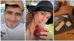 Gerald Anderson spends time with girlfriend Julia Barretto in Boracay