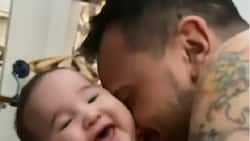 Billy Crawford shares adorable video of Amari; Luis Manzano pens hilarious comment