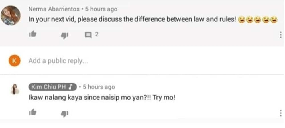 Kim Chiu engages in intense word war with bashers after viral 'classroom' statement