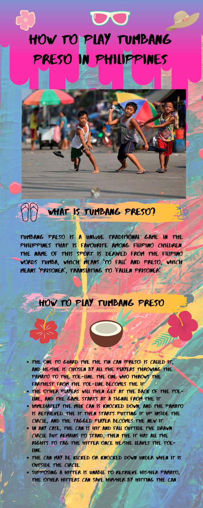 How to play Tumbang Preso in Philippines