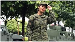 Crowned beauty queen, isa ring 2nd lieutenant sa Phil. Army reserve force