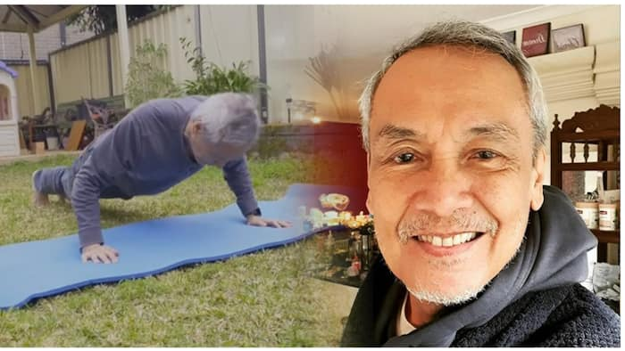 Jim Paredes, ibinahagi ang kanyang pagiging fit sa kabila ng kanyang edad na 70