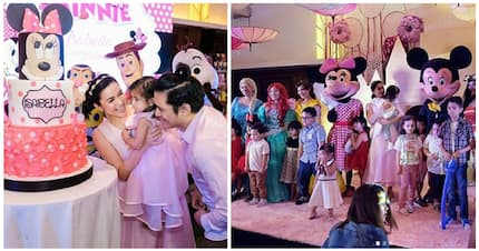 More of Maria Isabella Padilla's Disney-themed birthday party