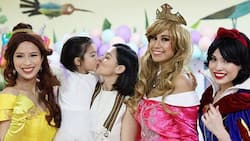 In photos: Baby Zia's unicorn and princess-themed birthday party