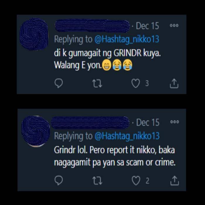 Nikko Natividad denies owning a Tinder account; calls out identity thief