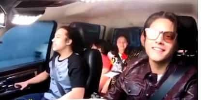 Natakot si Momshie! Karla Estrada, sinaway si Daniel Padilla habang nagmamaneho