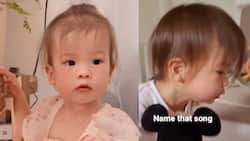 """Video of baby Dahlia singing, saying """"daddy"""" repeatedly goes viral"""
