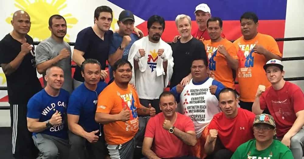 Manny Pacquiao, kinilala ang kontribusyon nina Buboy Fernandez at Freddie Roach sa makulay na boxing career