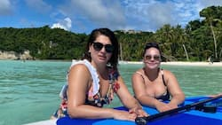 Karla Estrada watches over Andre & Kobe Paras to help friend Jackie Forster
