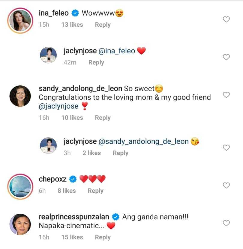 Jaclyn Jose's sweet reaction towards Philmar Alipayo's proposal to Andi goes viral