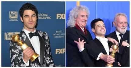 Golden Globes 2019: Fil-Am actor Darren Criss shows love to his Filipino mom as he wins; 'Bohemian Rhapsody' rocks the night