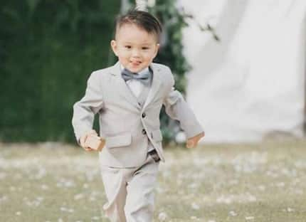 Baby Primo stuns netizens anew after his photos as ring bearer circulate online