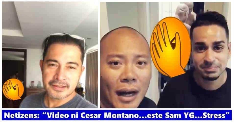 WATCH: Sam YG, Tony Toni record spoof video of Cesar