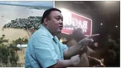 Harry Roque, nagpaliwanag tungkol sa viral na video niya sa kasagsagan ng baha