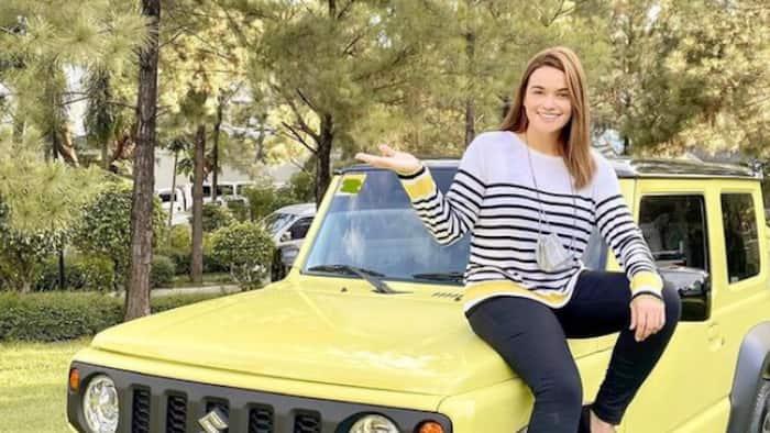 "Yasmien Kurdi flaunts her new car on social media: ""Dream Car"""