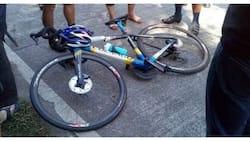 Motoristang nakabangga ng bike, nalula sa halaga nitong halos kalahating milyong piso