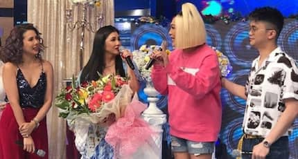 Regine Velasquez gets emotional due to warm welcome on It's Showtime!