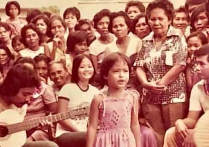 Viral childhood photo of Manilyn Reynes triggers mixed reactions from netizens