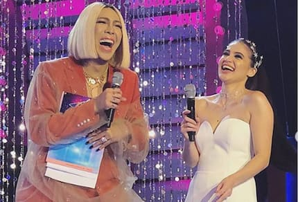 Vice Ganda lets Anne Curtis experience an embarrassing moment on national TV