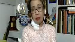 Doris Bigornia made an appearance on TeleRadyo after open-heart surgery