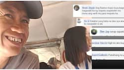 Arrogant male harassing a lady commuter inside of a public jeepney elicits mixed reactions