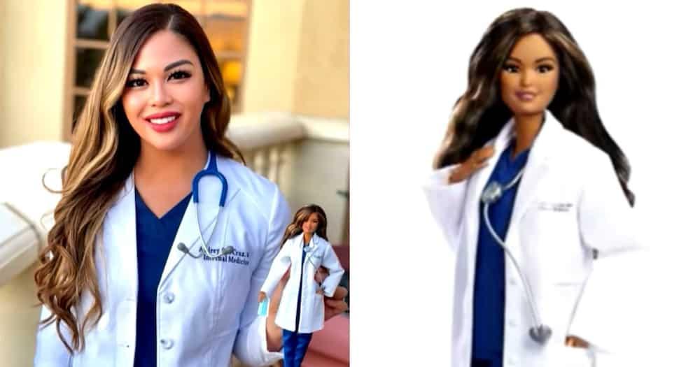 Pinay doctor sa Amerika, napili bilang role model ng 'Barbie' doll