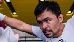 Manny Pacquiao's intense face-off with Yordenis Ugas thrills fans