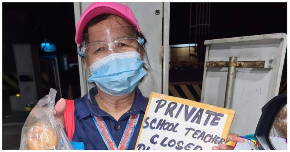 Private school teacher na nawala ng trabaho, naglalako ng pagkain para may kitain