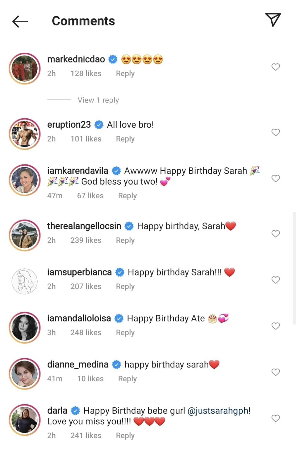 """Matteo Guidicelli pens sweet birthday message for Sarah Geronimo; calls her a """"superwoman"""""""