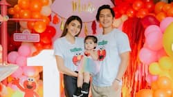 Carlo Aquino gives glimpse of daughter baby Enola's first birthday celebration