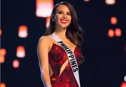 Australian tabloid criticized for crossing out Philippines as hometown of Catriona Gray