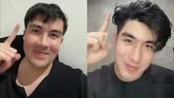 "Netizens gush over Luis Manzano's video featuring Thai actor Mek: ""Hala kamukha mo"""