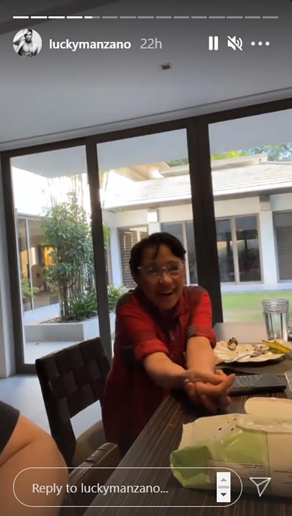 Luis Manzano invites his mother, Vilma Santos to join his next vlog