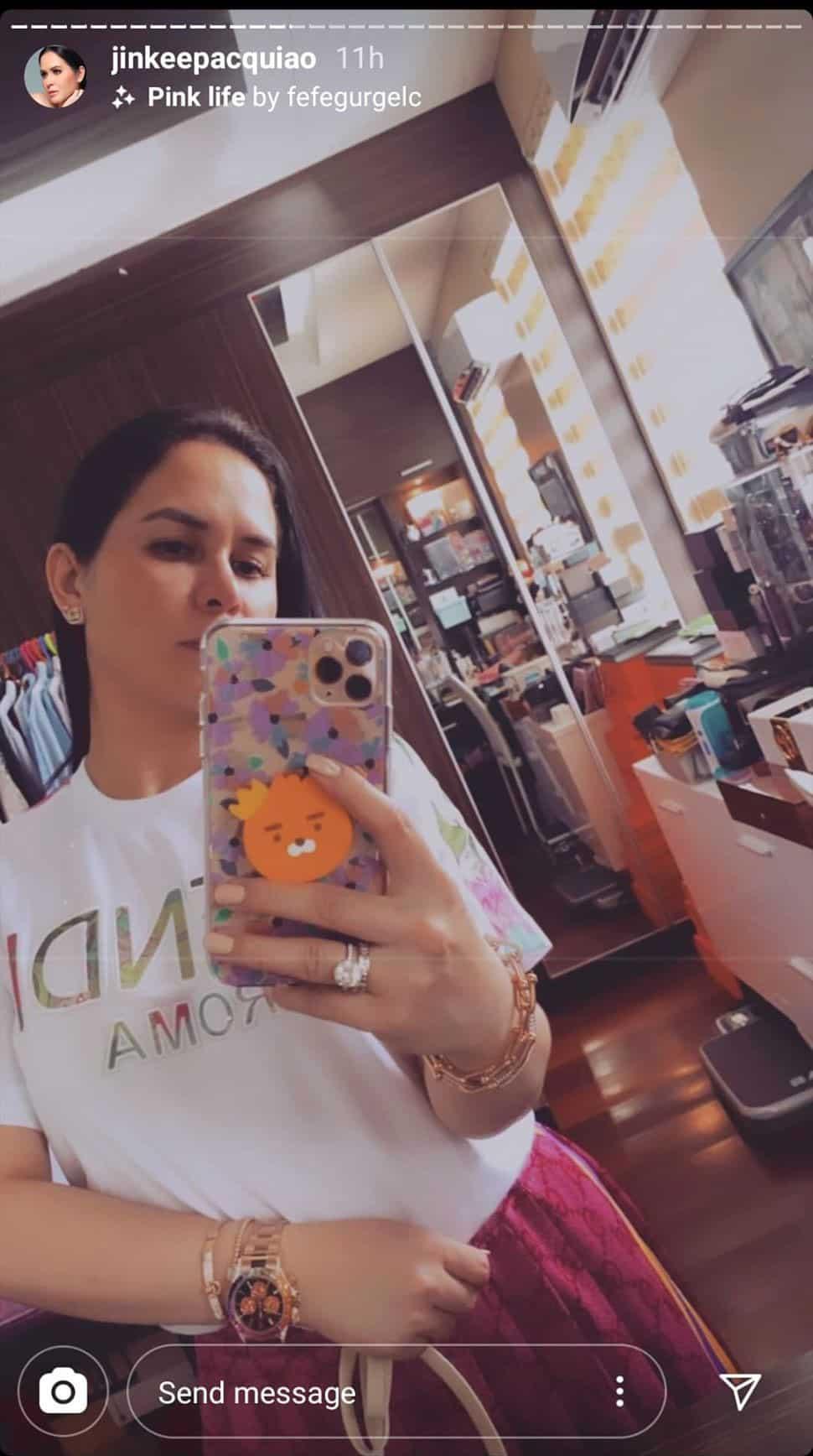 Yayamanin! Jinkee Pacquiao gets spotted wearing her P16.3 million watch