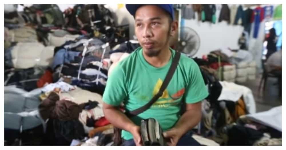 Lalaking namimili sa ukay, naka-jackpot ng malaking halaga ng pera na nasa damit