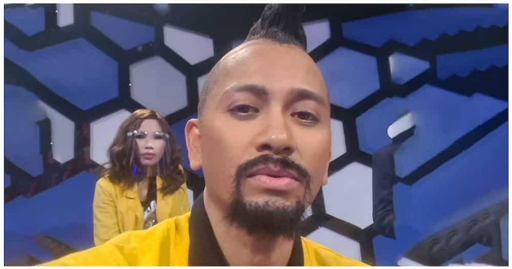 Jhong Hilario, napagtripan ang anak niya na lagyan ng buhok