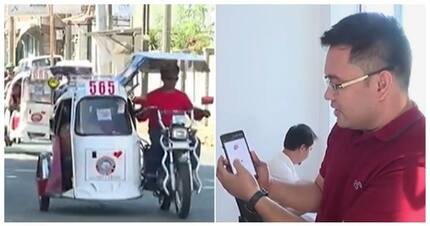 Level-up! Tricycle booking app, tampok sa La Union