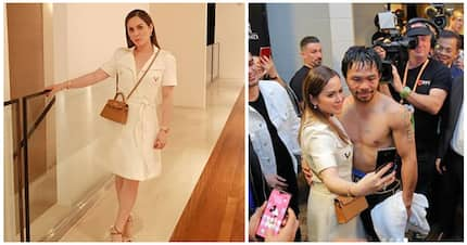 Gandara ni madam! Jinky Pacquiao turned heads in Valentino dress for Manny's fight