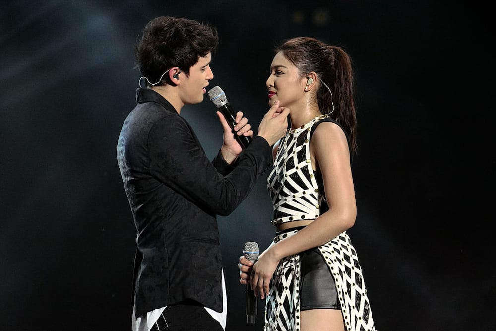 Nadine Lustre lambasts basher over a photo of James Reid's dinner with friends, but without her