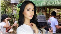 Heart Evangelista gets teary-eyed as she surprises Kuya Jun with his new house