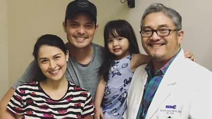 Marian Rivera, Dingdong & Zia Dantes visit the doctor & give pregnancy update