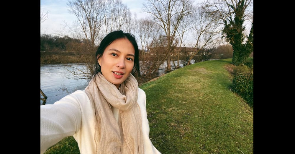 Isabelle Daza proudly displays 33-week-old baby bump on her 33rd birthday