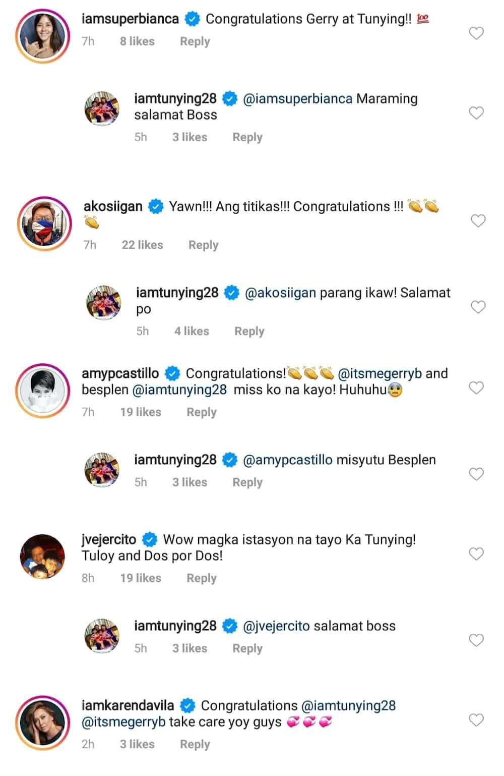 Kapamilya stars react to Anthony Taberna's transfer to DZRH from DZMM