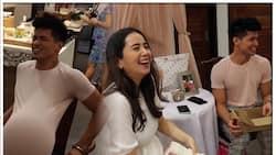 Vin Abrenica at Sophie Albert, ibinahagi ang kaganapan sa kanilang baby shower