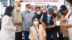 """Robredo calls out fake photo of her receiving COVID-19 vaccine: """"Ridiculously funny"""""""