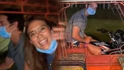 Video ni Sofia Andres at Daniel Miranda habang nakasakay sa tricycle, viral na