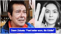 Eddie Gutierrez receives prayers and well wishes from celebrities after his operation