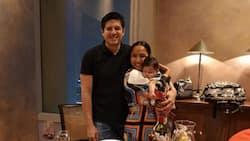 Rochelle Pangilinan celebrates birthday with husband Arthur Solinap and baby Shiloh
